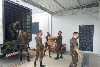 Os equipamentos chegaram na tarde desta terça-feira, 21 - Foto: Sesau