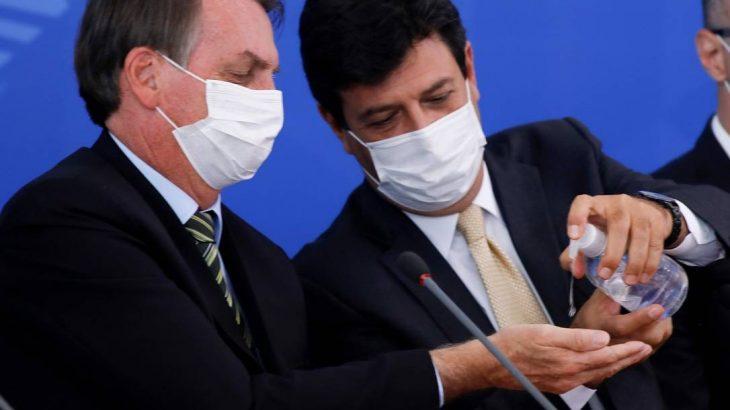 """Sem ter oferecido apoio concreto contra o coronavírus, o então ministro da Saúde disse, há dois dias, que o Amazonas """"não tinha gestão"""". Foto: Sergio Lima / AFP"""