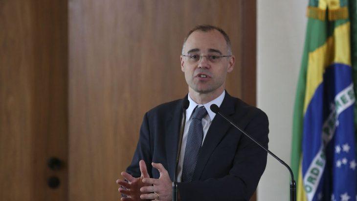 André Mendonça, participa do lançamento da Estratégia Nacional Integrada para a Desjudicialização da Previdência Social, no Supremo Tribunal Federal (STF). Foto: Agência Brasil/ Divulgação