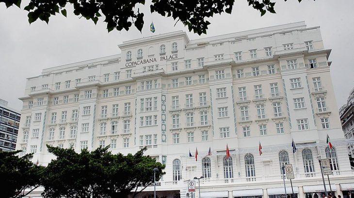 Fachada do hotel Copacabana Palace, no RJ. Foto: Fabio Pozzebom / Agência Brasil