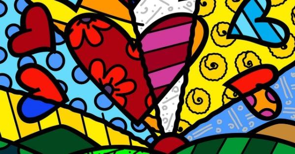 Pintura do artista plástico Romero Britto - foto: divulgação