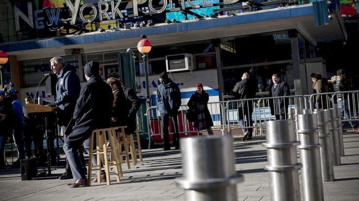 Praça de pedestre Times Square, Manhattan - Crédito: Ed Reed/Mayoral Photography Office.