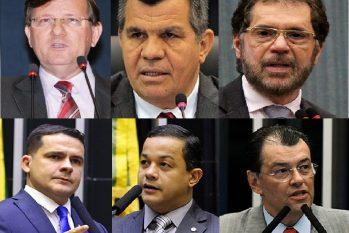 Senadores e deputados federais do Amazonas (Divulgação)