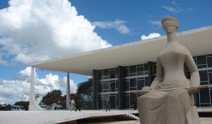 Por 10 a 1, os ministros votaram para reconhecer o direito do fotógrafo Alex Silveira de receber indenização por ter sido atingido no olho esquerdo por uma bala de borracha disparada por um policial militar de São Paulo. (Reprodução/STF)