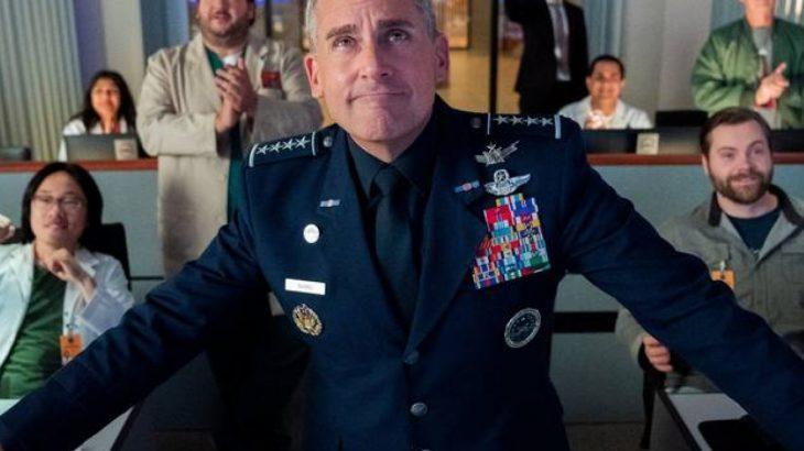 A série Space Force será lançada na próxima sexta-feira, 29, no Netflix (Divulgação)