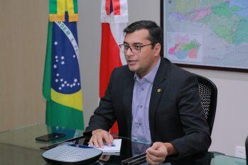 Governador Wilson Lima (Foto: Maurilio Rodrigues / Secom)