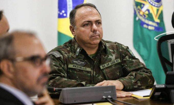 Eduardo Pazuello, ministro interino da Saúde (Valter Campanato/Agência Brasil)
