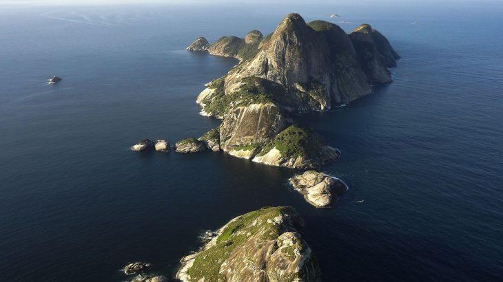 O arquipélago de Alcatrazes fica localizado no litoral de São Paulo (Divulgação/Agência Brasil)