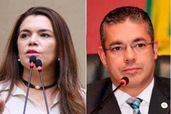 Alessandra Câmpelo pretende interpelar Josué Neto na Justiça sobre escolha arbitrária dos membros  da CPI da Saúde (Reprodução/ALE-AM)