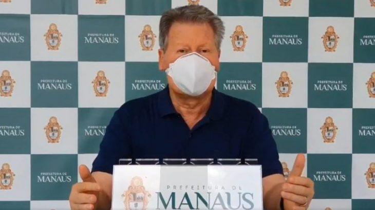 'Se liberarmos, vamos ajudar a furar o isolamento', diz prefeito de Manaus sobre salões e academias