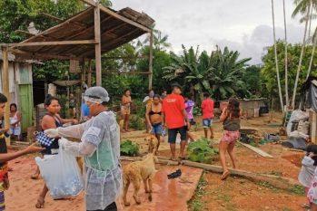 Indígenas de São Gabriel da Cachoeira são os mais afetados, nas quase 750 comunidades de 23 etnias (Divulgação/ DSEI-ARN)