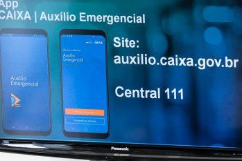 Caixa Economica se prepara para, a partir da semana que vem,realizar novos pagamentos do auxílio emergencial (Reprodução/Agência Brasil
