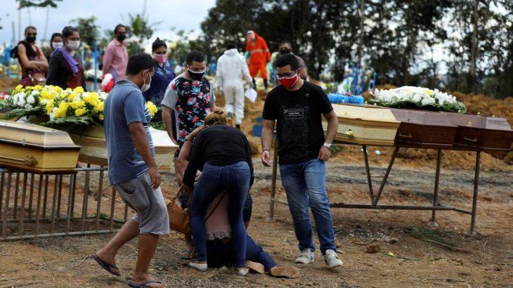 Brasil supera triste marca de 15 mil mortos e já é o 4° mundial em números de contaminados por Covid-19