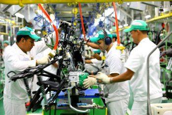 Empresa suspendeu produção de motocicletas no Amazonas por conta da pandemia de Covid-19. (divulgação)