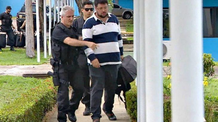 Condenado a 15 anos de prisão por desvio de recursos da saúde pública do Amazonas, Mouhamad Moustafa pode ser solto em meio a uma pandemia que expôs a fragilidade do sistema (Reprodução/G1)