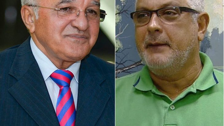 Ex-governador José Melo e presidente do Sindicato dos Médicos do Amazonas, Mário Viana (Reprodução/ Internet)