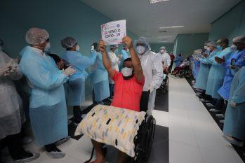 Na luta diária contra a Covid -19, pacientes do Amazonas e profissionais da saúde, tem o que comemorar, cada vida salva, é um incentivo para continuar a batalha. (Reprodução)