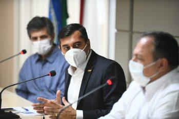 Nelson Teich prometeu visitar nesta segunda-feira, 4, hospitais do governo do Estado e Prefeitura de Manaus. Foto: Divulgação