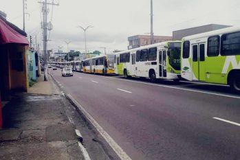 Paralisação de ônibus em Manaus, 2016 (Bruno Pacheco/Revista Cenarium)