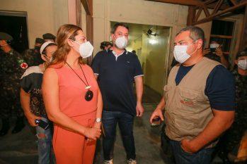 A abertura da ala para o atendimento de indígenas foi anunciada pelo secretário de Saúde Indígena do MS, em visita a Manaus no dia quatro de maio. (Secom)