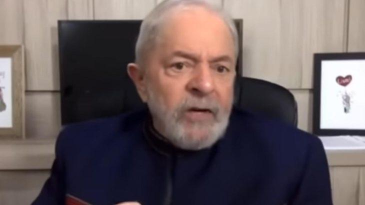 Ex-presidente Lula comemorou os impactos da Covid-19 na economia liberal do governo (Reprodução/Youtube)