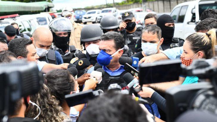Afirmação foi feita pelo secretário de Segurança Pública, Louismar Bonates. Foto: Divulgação