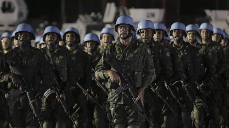 Atualmente são quase 300 brasileiros, entre militares, policiais e observadores, atuando em missões de paz da ONU - Folhapress