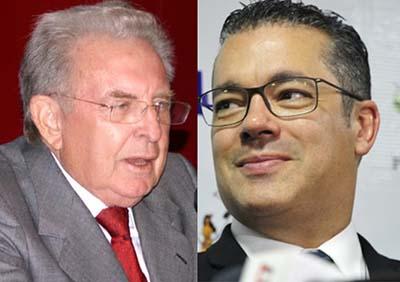 Ex-presidente do STF Ilmar Galvão e o atual presidente da ALE/AM, deputado Josué Neto: análise de jurista é confrontada (Reprodução/Internet)