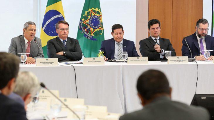 A equipe do procurador-geral da República, Augusto Aras, vê indícios de que o presidente cometeu delitos ao, supostamente, interferir na PF (Divulgação)