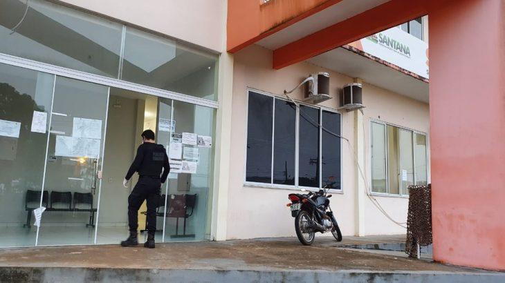 Operação Expurgo apura direcionamento de contratação feita sem licitação na prefeitura de Santana. Valor do contrato chega a R$ 1,8 milhão. (Divulgação)