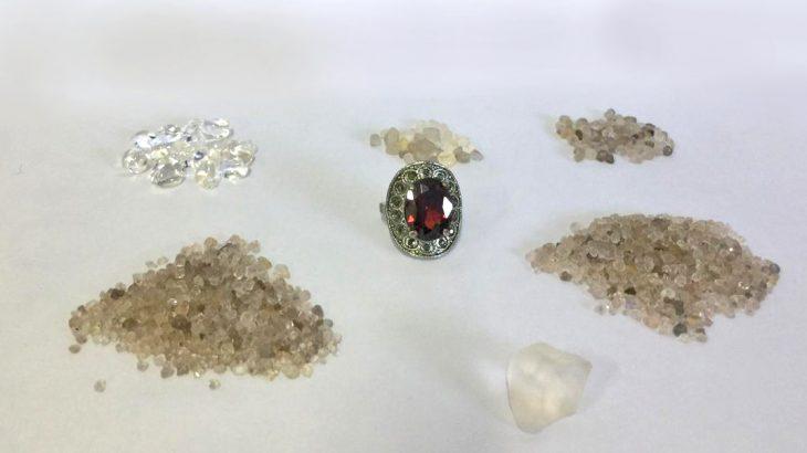 PRF e PF apreendem 1.590 pedras de diamantes em Vilhena-RO