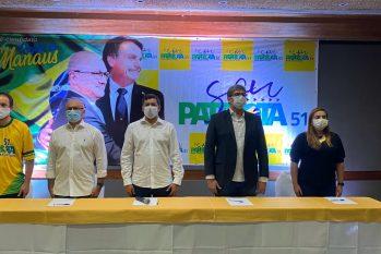 O anúncio da pré-candidatura do Coronel Alfredo Menezes foi feito nesta quarta-feira, 17 (Gabriel Abreu)