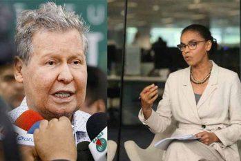 Vindos de um movimento político pós-ditadura, Arthur Neto e Marina Silva sabem o que a democracia representa para o país (Reprodução/Em Tempo)
