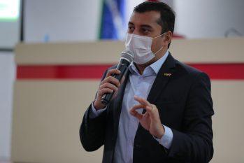 Durante a reunião, foi destacado os avanços na área da saúde em decorrência do combate ao novo Coronavírus, bem como os impactos da pandemia na economia e na arrecadação estaduais (Divulgação)