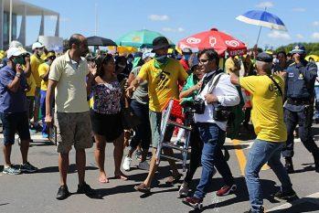 O presidente Jair Bolsonaro atacou 121 jornalistas, em 2019, o que representa 58% das agressões registradas (Divulgação)