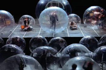 A banda na bolha foi um experimento que levantou o debate sobre o futuro dos eventos com a presença de público, como shows, concertos, peças de teatro e outros (Reprodução/Internet)