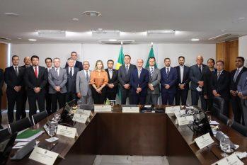 Durante encontro nacional em Brasília, secretário de segurança do Amazonas, defendeu propostas e medidas para melhoria da segurança pública (Reprodução/Divulgação SSP)