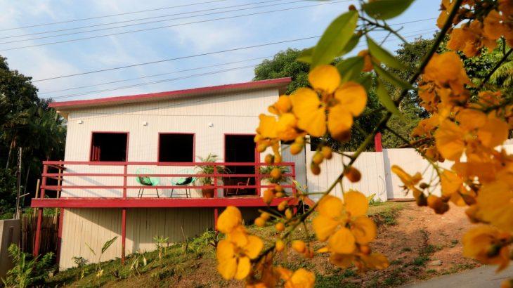 Uma morada cabocla no melhor estilo amazônico, com conforto e rusticidade, bem de frente para o paraíso natural do Parque de Anavilhas. (Ricardo Oliveira/ABH-Divulgação)