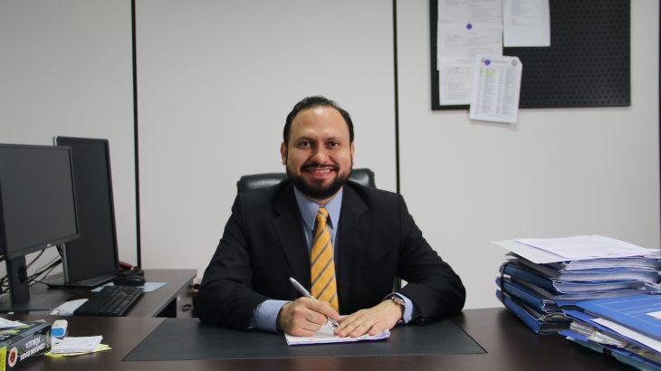 Em 2018, ele foi escolhido para estar pela primeira vez à frente do MPC (Divulgação/TCE/AM)