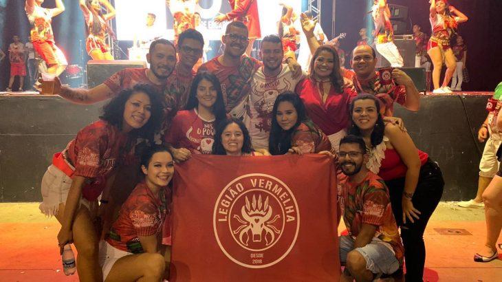 O evento é realizado pela Legião Vermelha, grupo de torcedores organizados nas redes sociais, que torce pelo Boi da Baixa de São José. (divulgação)