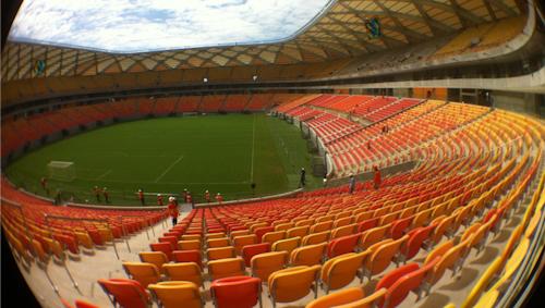 A Arena da Amazônia deve receber mais de 30 jogos profissionais até o fim de 2020 (Divulgação)
