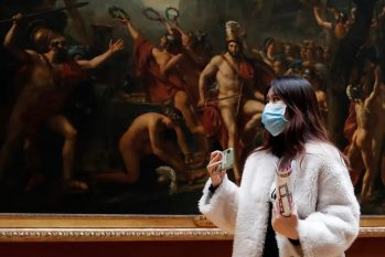 A Itália e a Espanha fazem parte dos 32 entre 35 países europeus que já haviam liberado totalmente a reabertura de museus no começo de junho. O Louvre, na França, anunciou que pretende reabrir em julho (Divulgação)