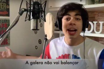 Músico e compositor  Dudu Brasil gravou o vídeo da toada 'Prece dos Vaqueiros' em parceria com Zeca Cyrino (Reprodução/Internet)
