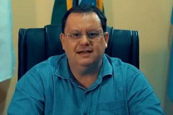 Gustavo Braz fez uma balanço de sua gestão de uma semana como prefeito de Itacoatiara (Reprodução/Facebook)