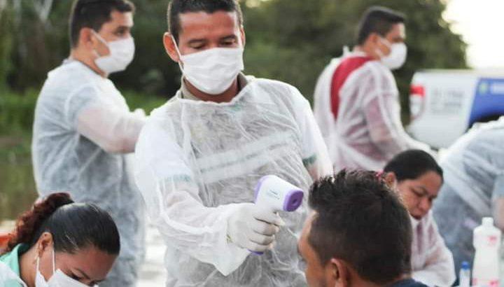 Medidas são para o enfrentamento da pandemia do novo Coronavírus. (Divulgação/Prefeitura de Urucará)