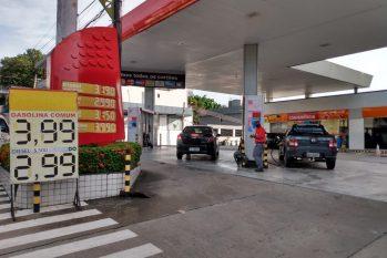 De acordo com o Sindcam, nos próximos dias, o preço do combustível deve ser reajustado na capital (Thiago Fernando)