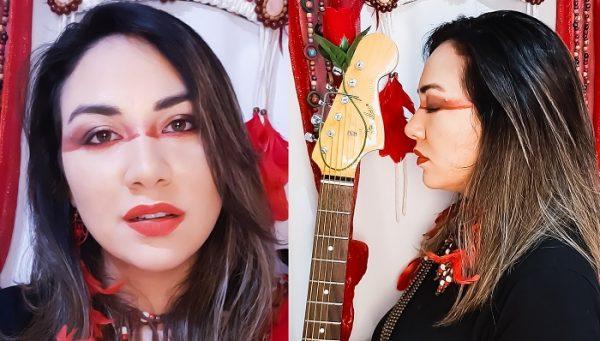Toada de boi bumbá fará parte do repertório da parada LGBTI+Brasil, nas voz da cantora amazonense Marj (Reprodução/Divulgação)