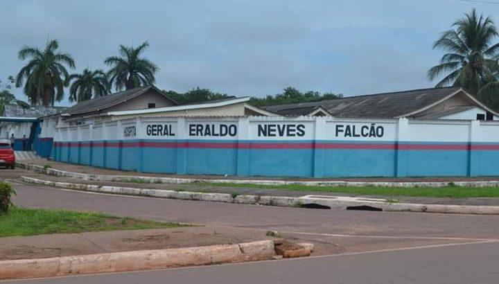 Hospital Geral Eraldo Neves Falcão, do município de Presidente Figueiredo (Divulgação)