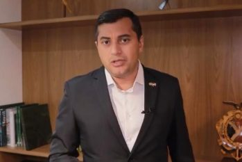 Governador do Amazonas publicou vídeo nas redes sociais falando sobre o assunto. (Reprodução/Instagram)