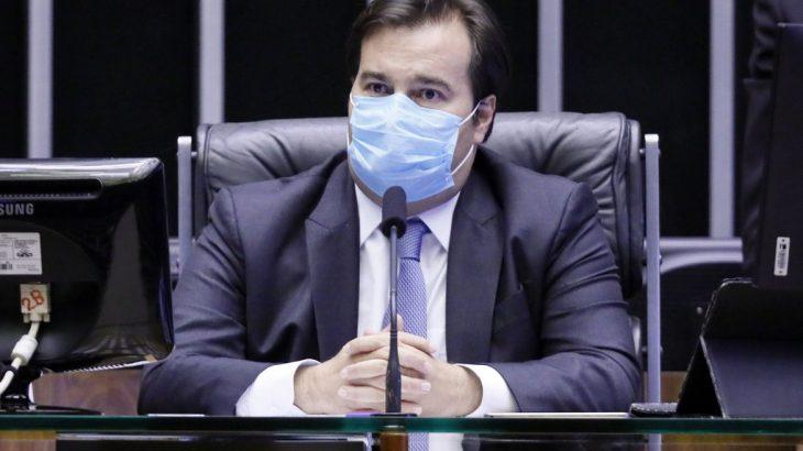 Conforme Maia, caso a eleição não seja viável em razão da pandemia, deve-se avaliar quem seria o substituto legal dos atuais prefeitos (Reprodução/Internet)